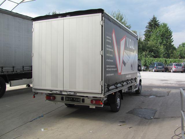 Odprti kesoni za tovorna vozila