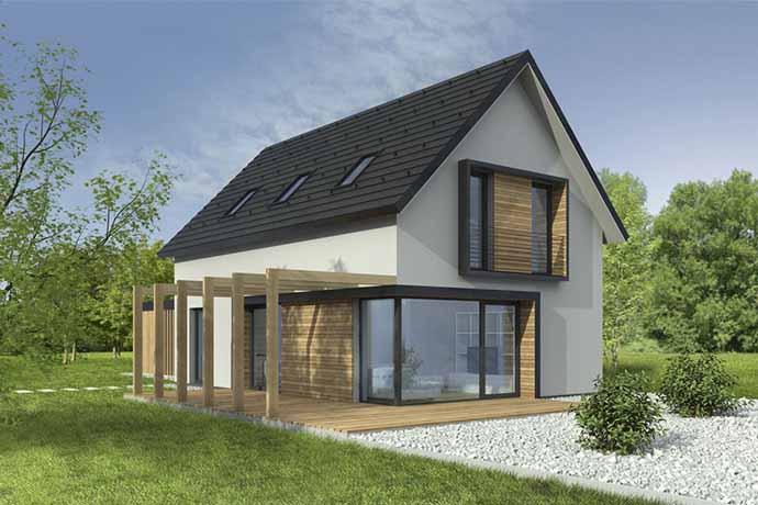 Lesena gradnja hiše cenik