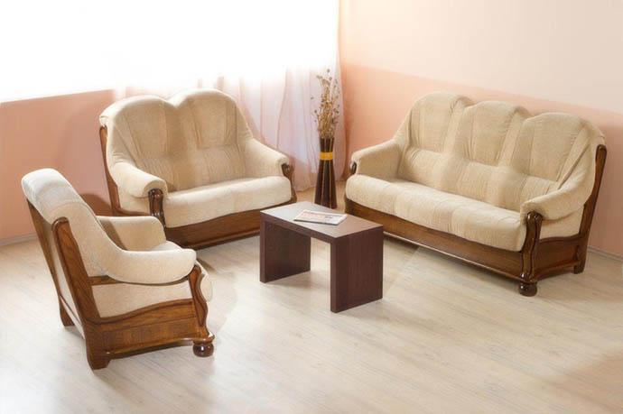 Sedežne garniture odprodaja eksponatov Emok
