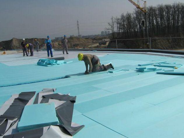 izolacija ravne strehe