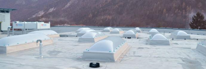 Izdelava ravne pohodne strehe