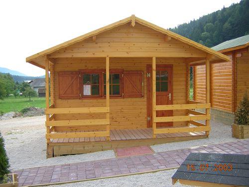 Leseni bungalovi