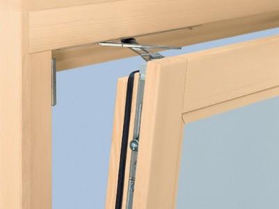 Okna lesena standardnih dimenzij