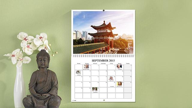 Izdelava koledarja po meri