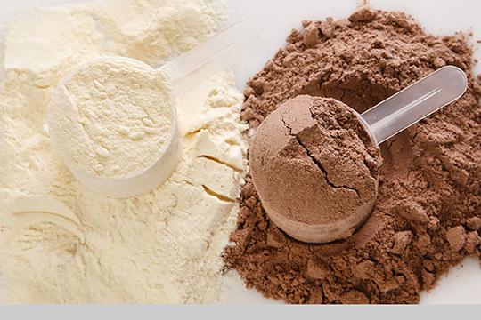 Whey proteini v prahu