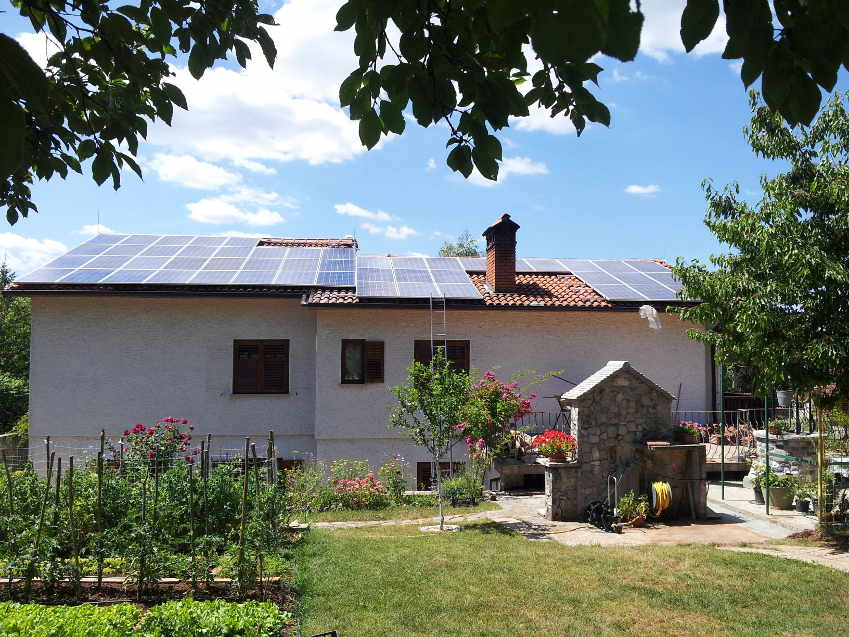 fotovoltaična energija za hišo (dom)