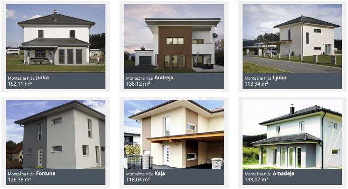 gradnja hiše na ključ