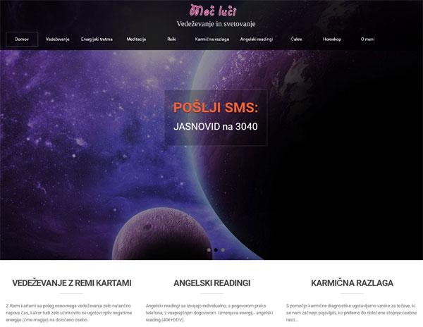 Izdelava spletne strani svetovanje-vedezevanje.si