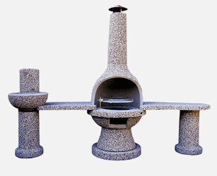 betonski kamini Jarc