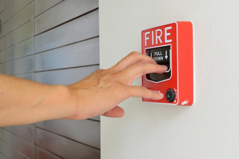 javljalnik požara - varnostni sistem