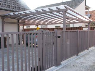 kovinska konstrukcija za teraso