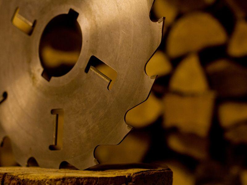 ročne ali namizne krožne žage za drva