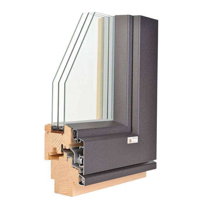 Lesena okna brez nabiranja kondenza