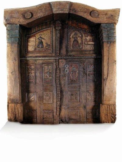 Lesena vhodna vrata po meri