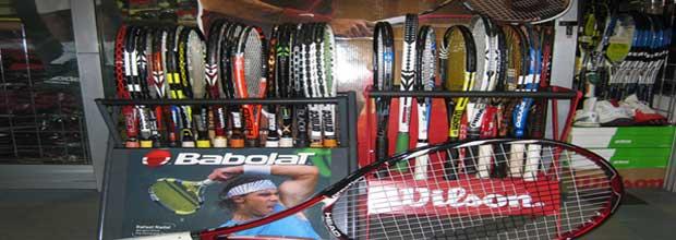 Lopar in oprema za tenis