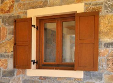 lesena okna kli