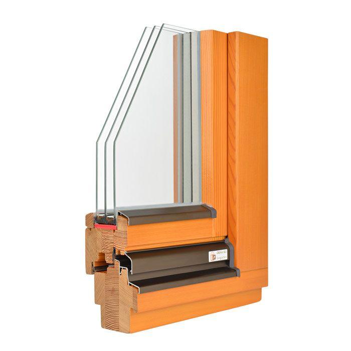 lesena okna smreka ali macesen