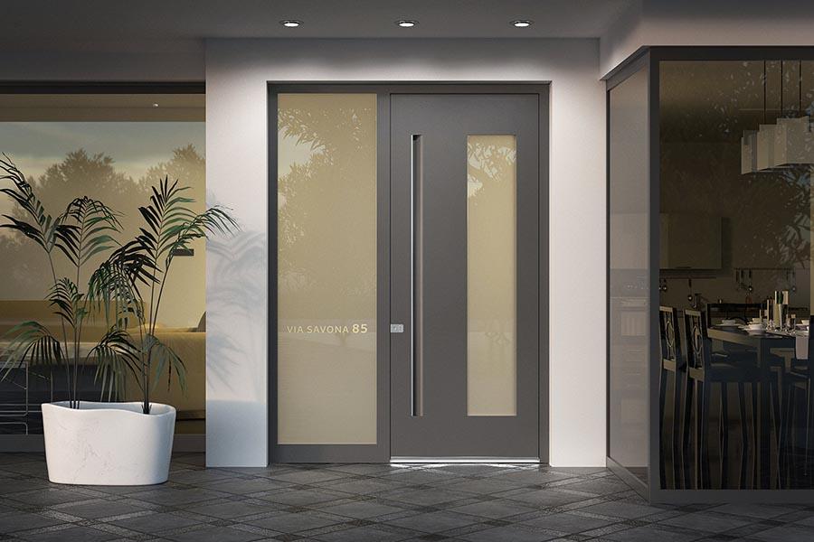 Aluminijasta stanovanjska vrata