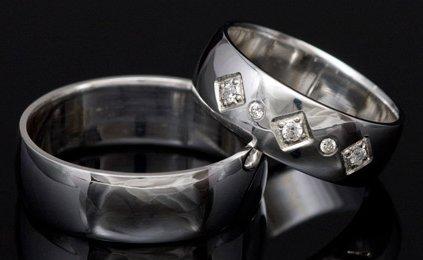 Poročni prstani belo zlato na spletu
