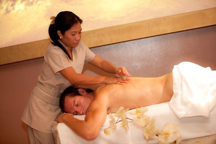 Ročna masaža z olji