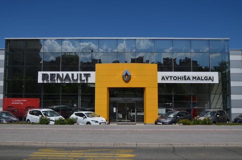 servis in prodaja Renault vozil v Sloveniji