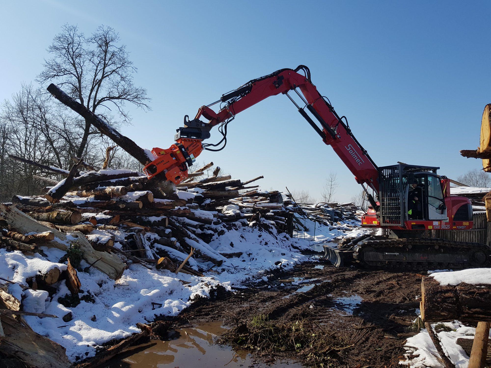 Lesena biomasa