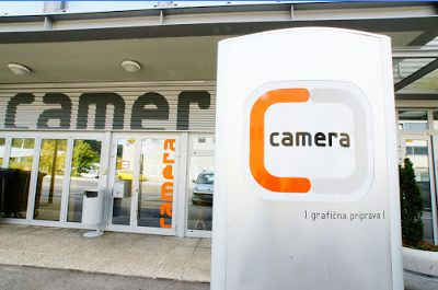 Tisk samolepilnih nalepk Camera