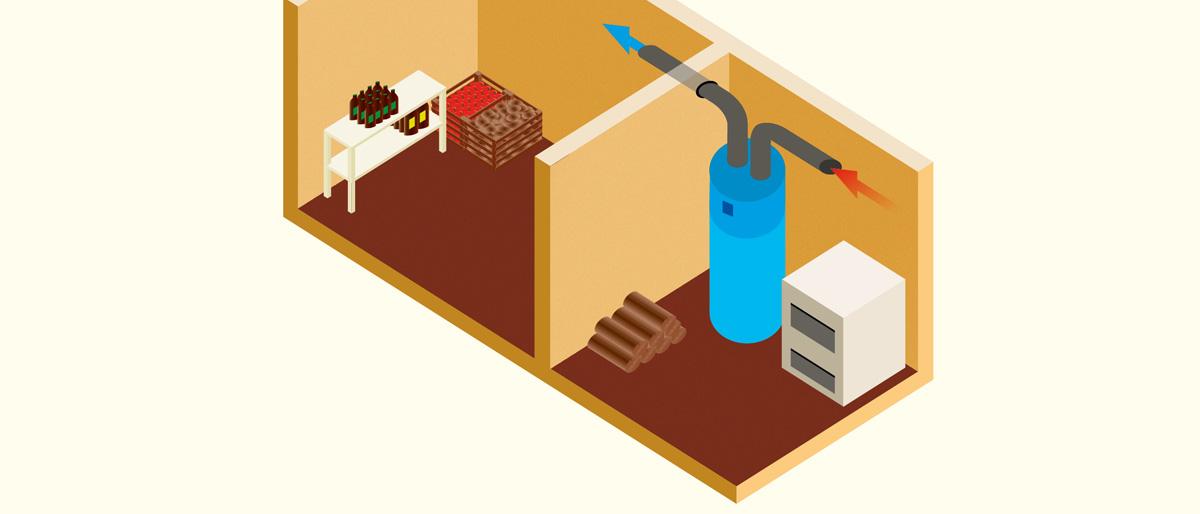 poraba toplotne črpalke za ogrevanje