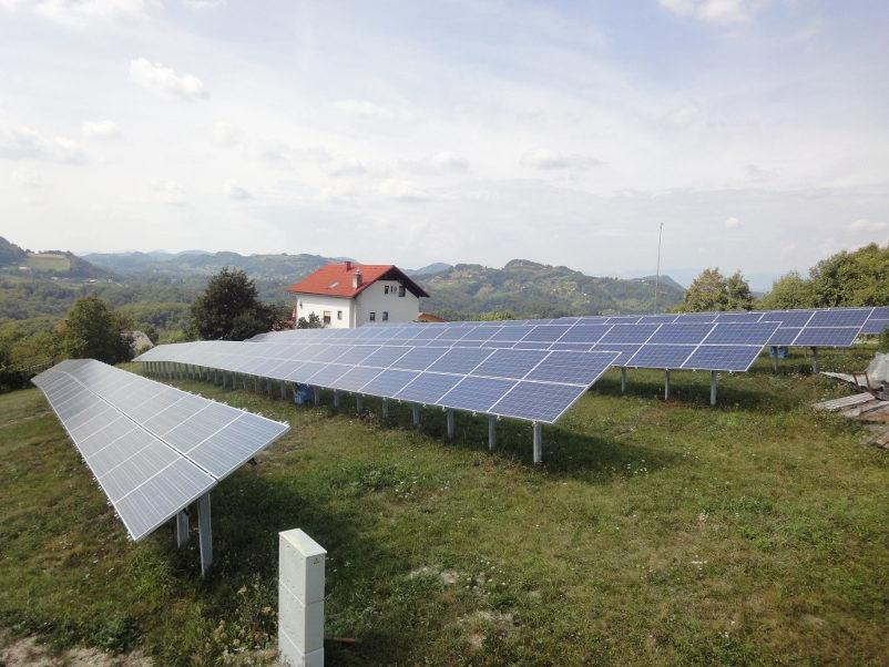 nazivna moč in uredba sončne elektrarne