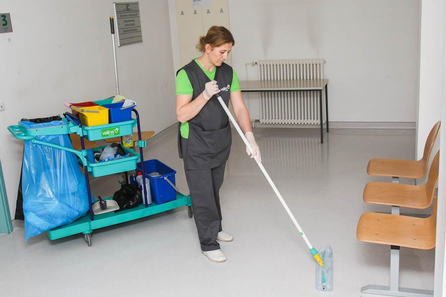 Generalno čiščenje poslovnih prostorov
