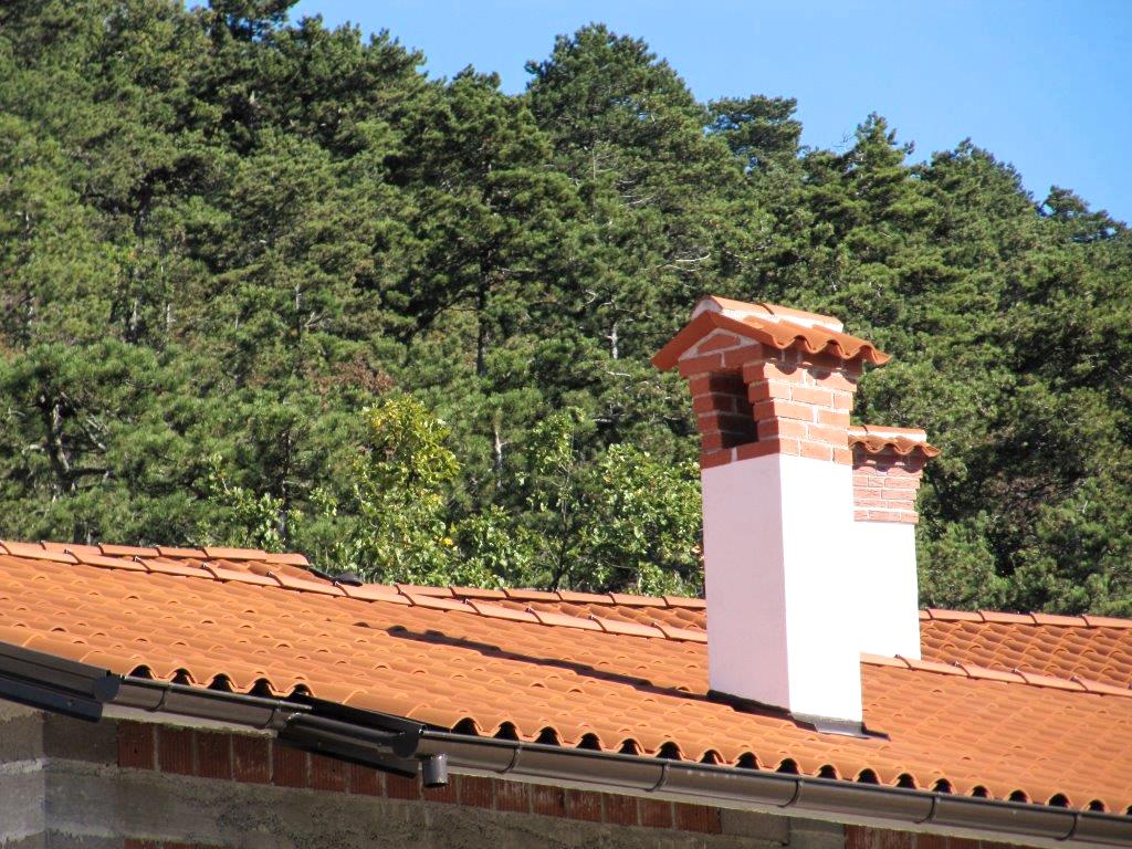 Minimalna višina dimnika za kamin in kurilne naprave