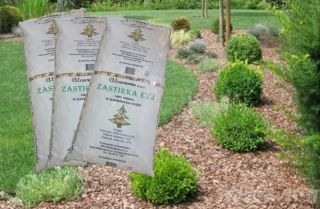 Zastirke na vrtu iz lubja proti polžem