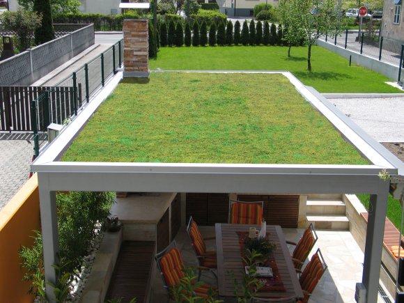 zelene strehe