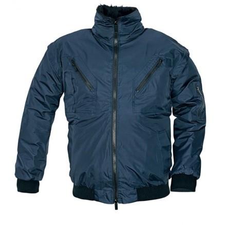 Podložena zimska delovna bunda